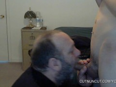 BEAR SUCKING A TWINK AND SWALLOW